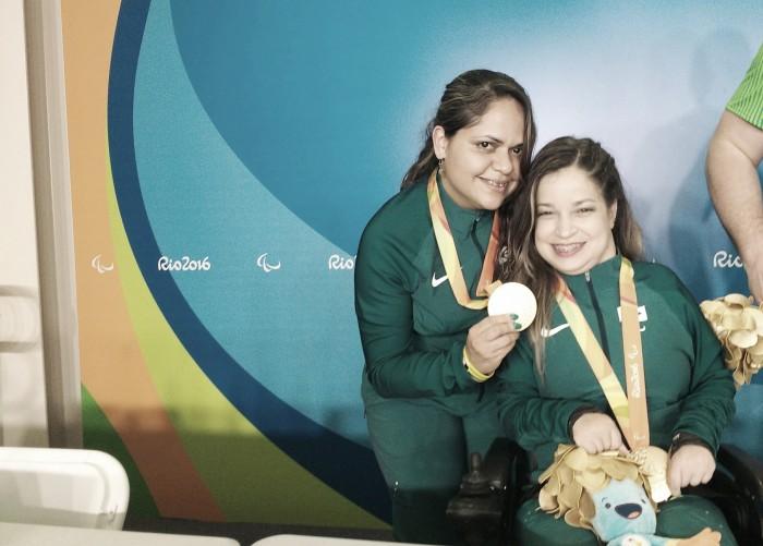 Ouro por pares BC3, Evani Calado celebra feito inédito da bocha paralímpica brasileira