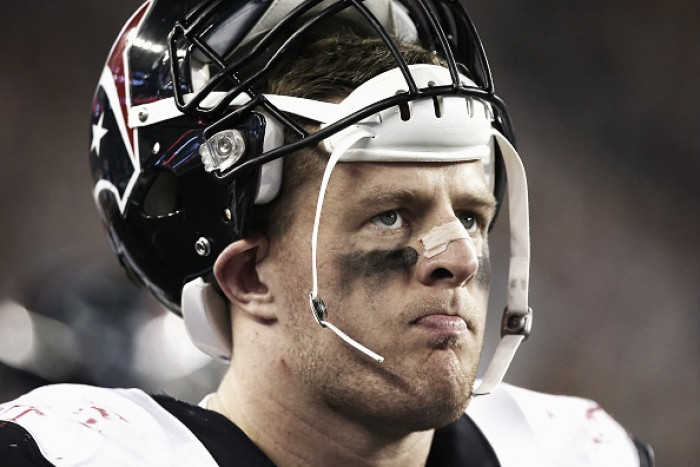 Houston Texans confirma cirurgia de J.J. Watt e defensive end perderá temporada da NFL