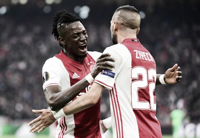 Ajax massacra Lyon em casa e fica a um pé de alcançar a final da Europa League