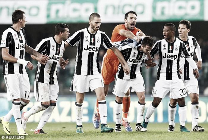 Juventus - Pescara terminata, Serie A Tim 2016/17 (3-0): Khedira-Mandzukic-Hernanes!