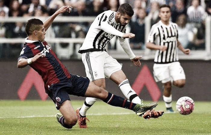 Bologna - Juventus in Serie A 2015/16 (0-0)