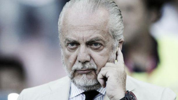 "De Laurentiis: ""Soriano arriverà a Gennaio, la Juve mi ha chiesto Hamsik. A Sarri date tempo"""