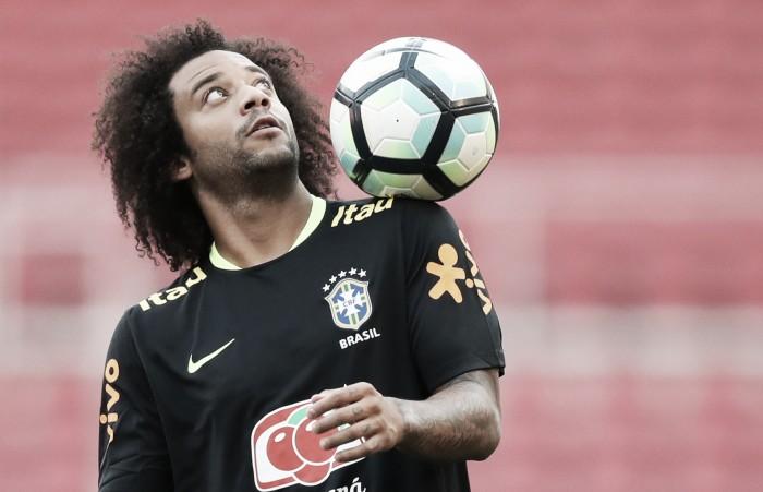 Marcelo é escolhido como capitão da Seleção para partida contra o Equador