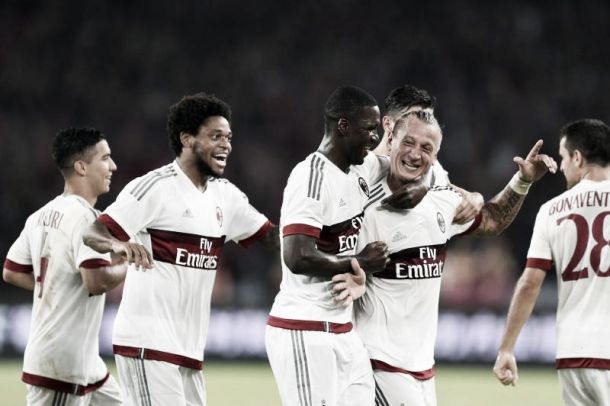 Prodezza di Mexes, il Milan vince il primo derby stagionale