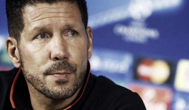 """Atletico Madrid, Simeone: """"Siamo motivati, la Champions è sempre speciale"""""""