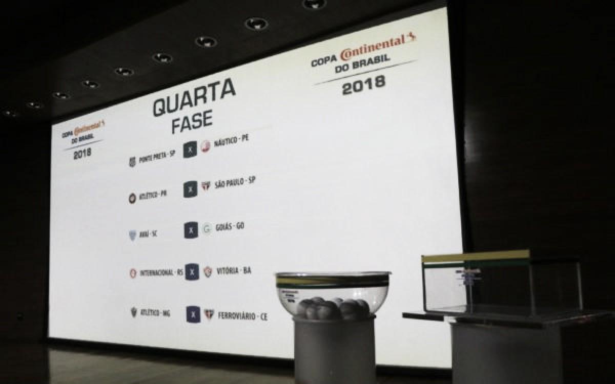 CBF divulga datas da quarta fase da Copa do Brasil, e jogo do Atlético será no início de abril