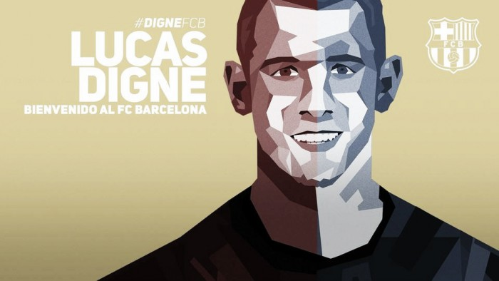 Lucas Digné é anunciado como novo reforço do Barcelona