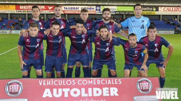 La SD Huesca sigue sin arrancar
