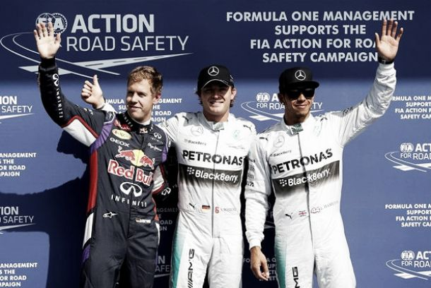 Brilhante Rosberg conquista pole em Spa-Francorchamps