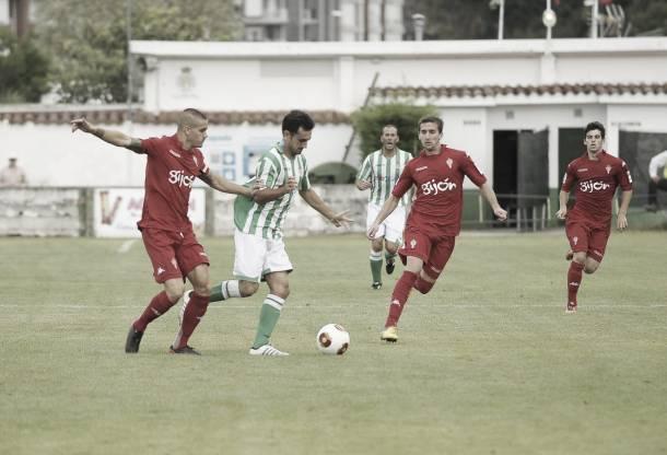 SD Noja 2 - 1 Sporting Gijón B: el proyecto costero arranca con buen pie