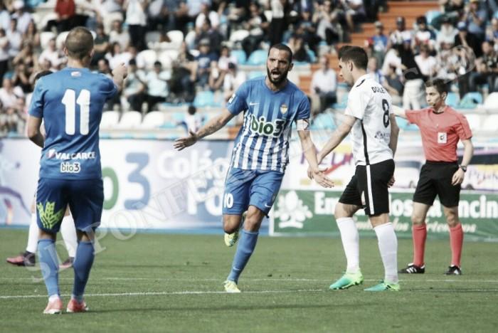Una mejorada Deportiva exhibe su pegada y complica la permanencia del Burgos