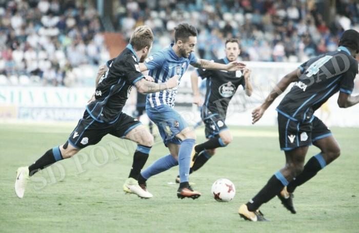 El Fabril vence y convence en El Toralín ante una decepcionante Deportiva