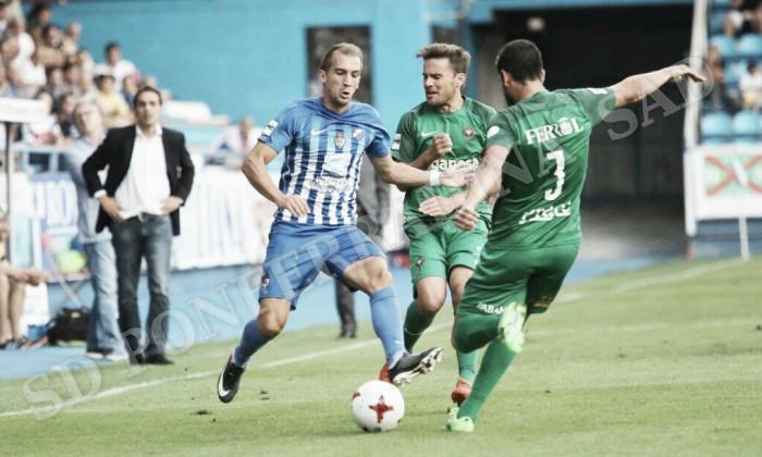 La falta de pegada condena a la Deportiva ante el Racing de Ferrol