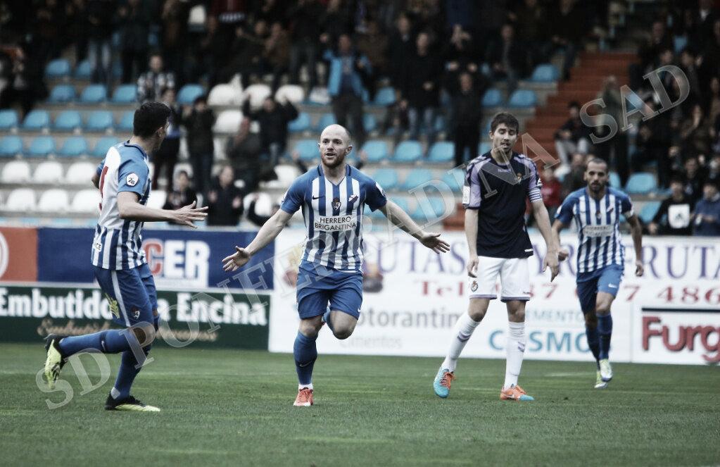 La Deportiva recupera el gol y logra una balsámica victoria ante el Valladolid B