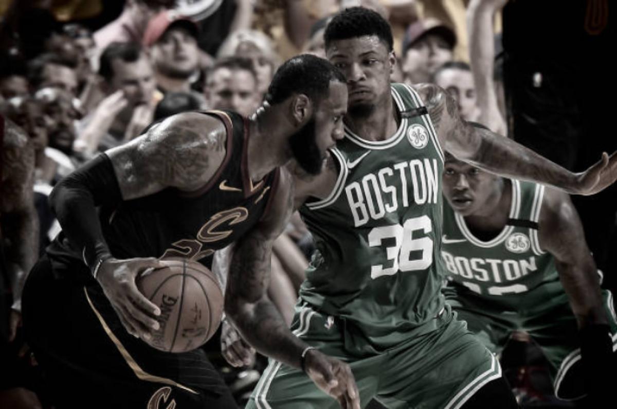 Cavaliers confirma mando de quadra, vence Celtics e empata final do leste na NBA