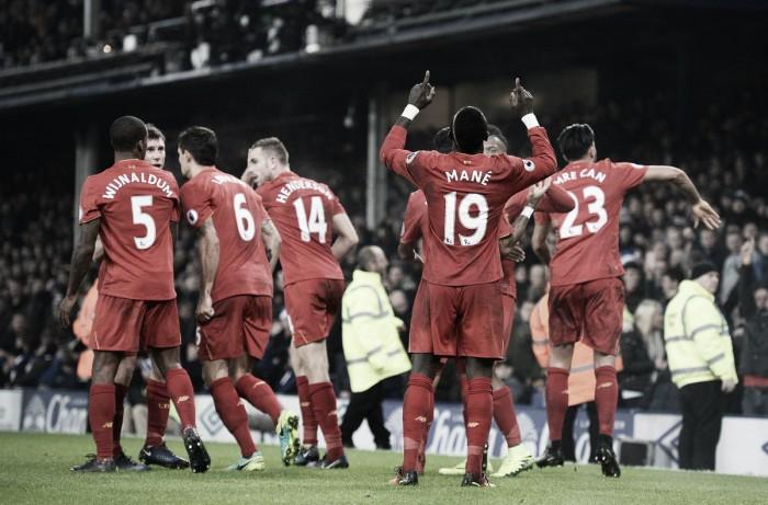 Premier League - Il Liverpool si aggiudica il derby del Merseyside: decide il goal di Mané al 94' (0-1)