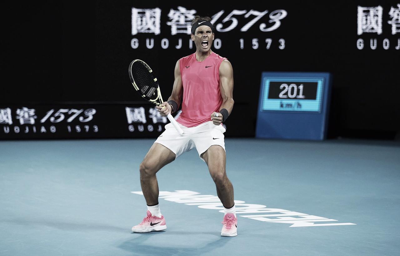 Em meio à homenagens a Kobe Bryant, Nadal vence Kyrgios e vai às quartas do Australian Open