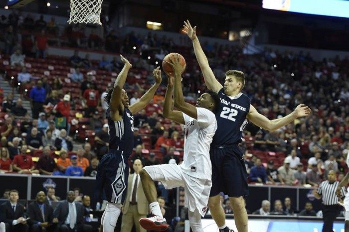 2016 Mountain West Tournament: San Diego State Aztecs Hold On To Beat Utah State Aggies