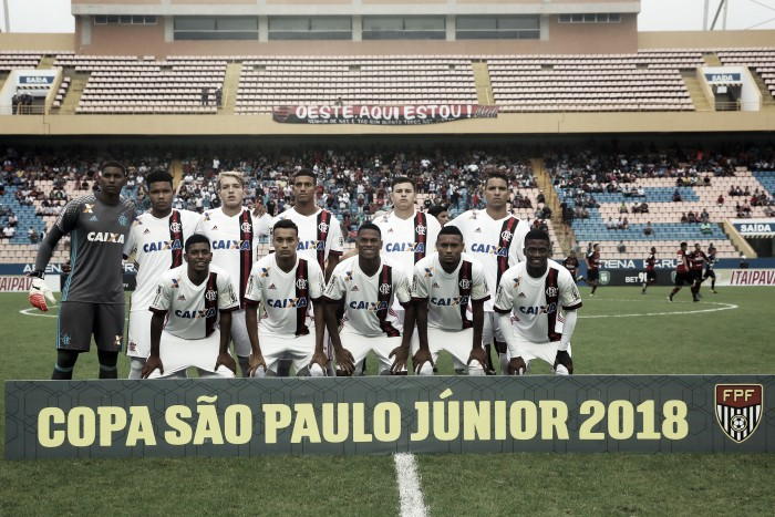 Classificado em primeiro na chave, Flamengo enfrentará Elosport-SP na segunda fase da Copinha