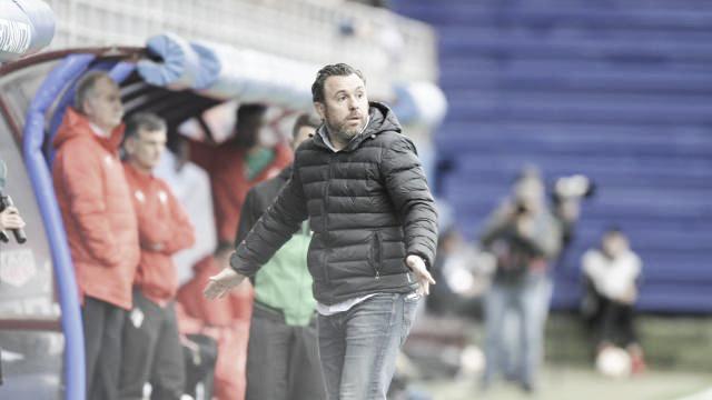 """Sergio González: """"Los futbolistas se merecían esta victoria"""""""