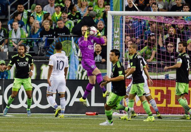 2015 MLS Cup Playoffs: Seattle Sounders, LA Galaxy Playoff Match History