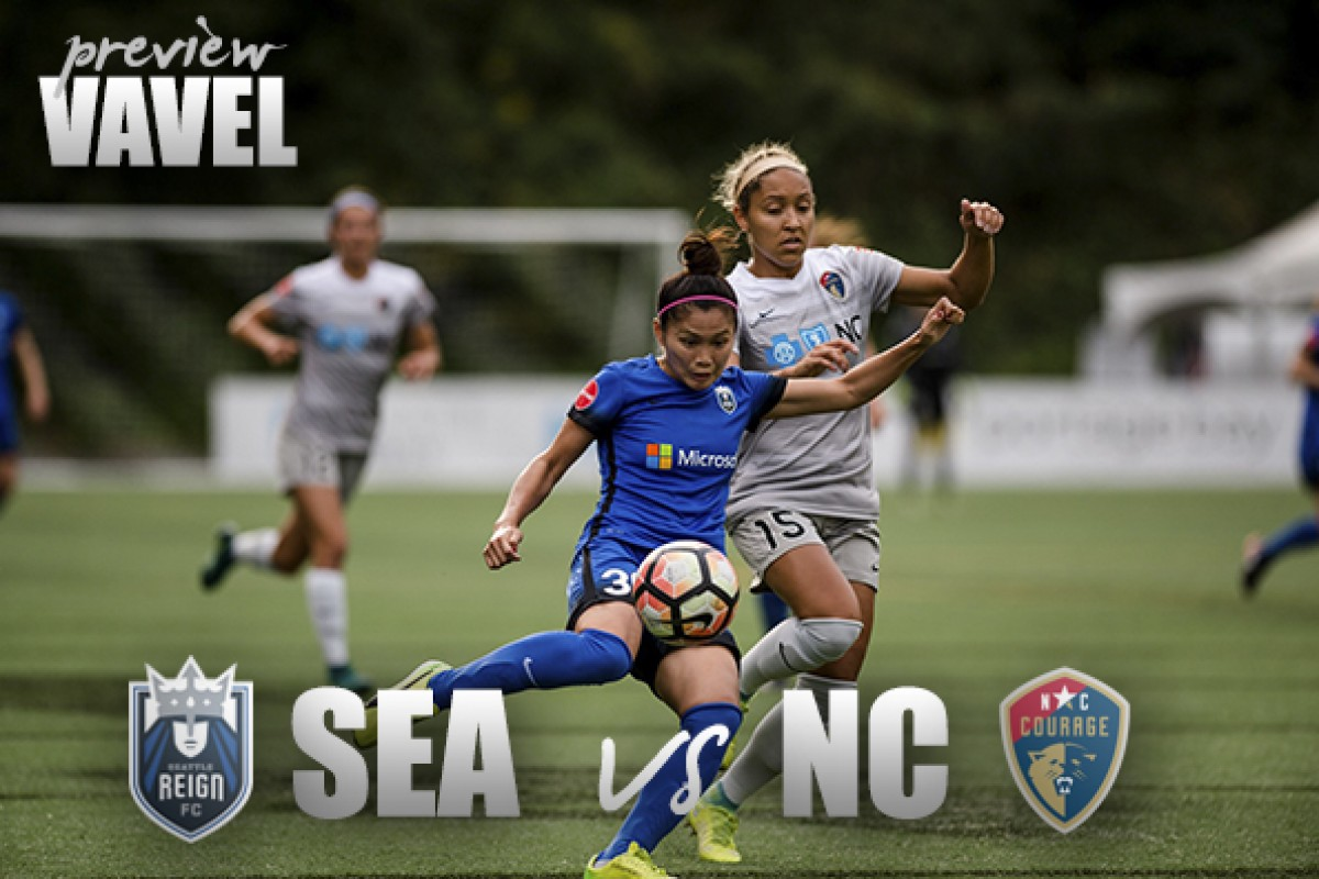 Seattle Reign v North Carolina Courage Preview: Potential NWSL Championship Game preview match?