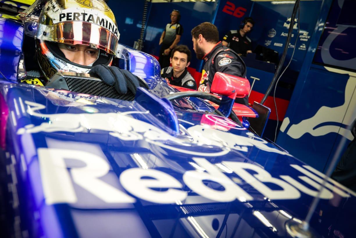 Sean Gelael Tes F1 Di Toro Rosso