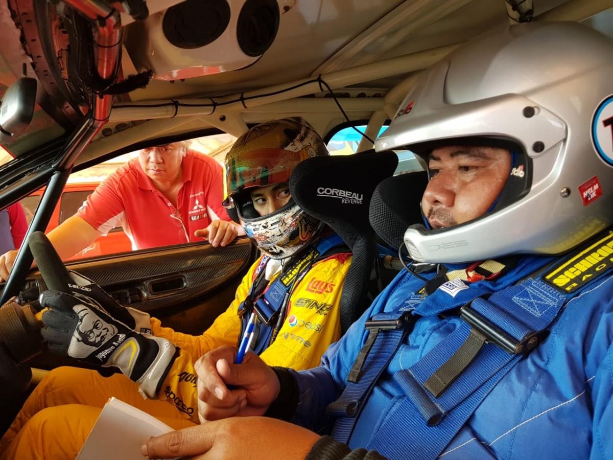 Duo Gelael Tampil di Merdeka Sprint Rally 2018