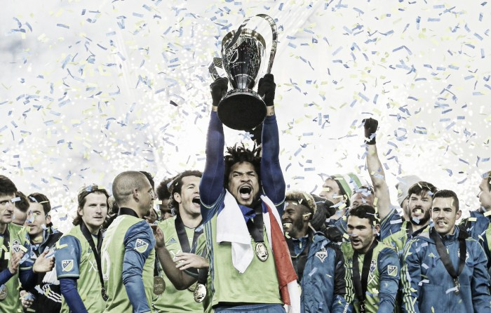 Seattle Sounders win first MLS Cup after winning dramatic penalty shootout, 5-4, over Toronto FC