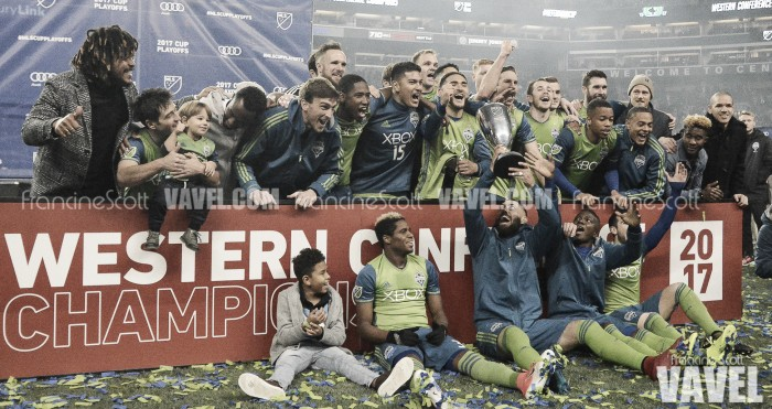 Seattle Sounders claim Western Conference Title; will face Toronto FC in MLS Cup rematch