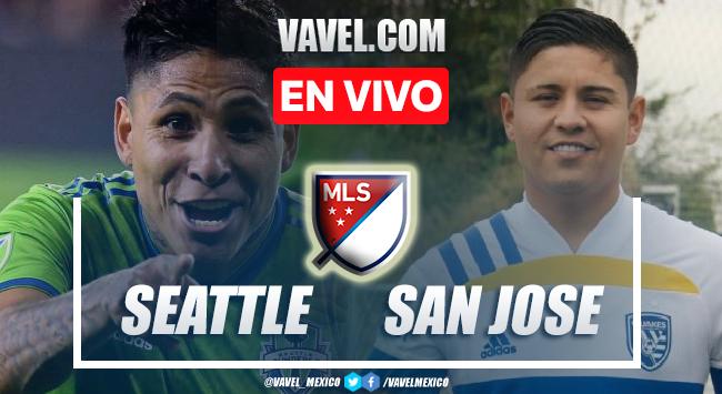 Gol y resumen del Seattle Sounders 0-1 San José Earthquakes en MLS 2021