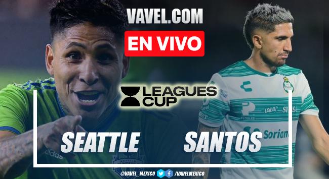 Gol y resumen del Seattle Sounders 1-0 Santos Laguna en Leagues Cup 2021
