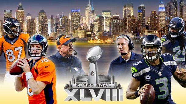 Resultado Seahawks - Broncos en la Super Bowl 2014 (43-8)