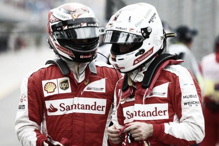 Gran Premio Ungheria - Vettel-Raikkonen, dominio Ferrari nella PL3