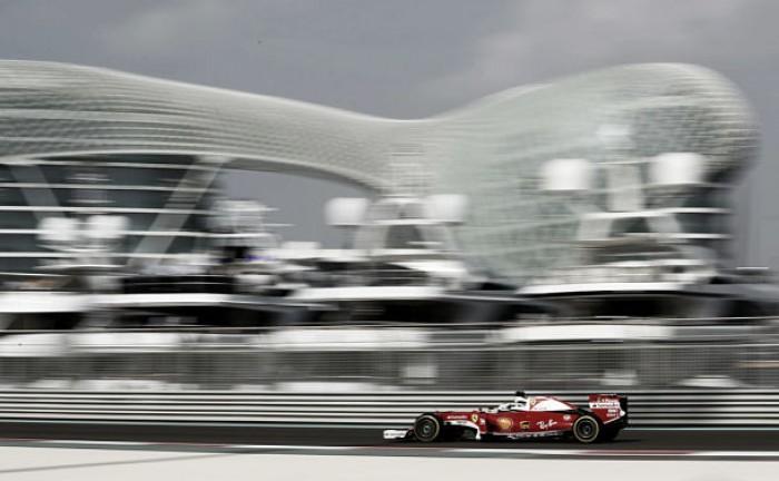 Sebastian Vettel lidera los Libres 3 en Abu Dhabi por delante de Mercedes