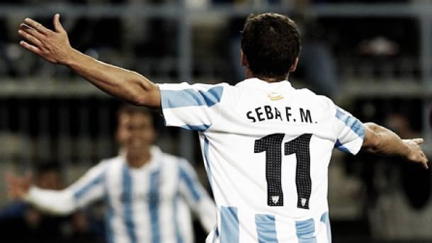 Málaga y Quilmes negociarán por Seba Fernández