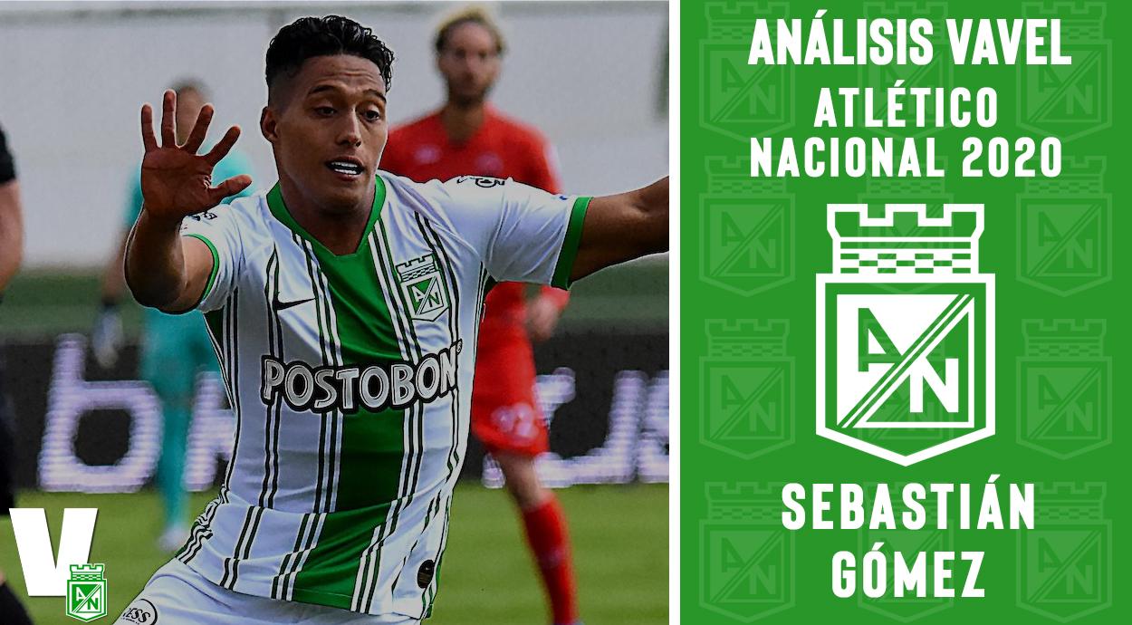 Análisis VAVEL, Atlético Nacional 2020: Sebastián Gómez