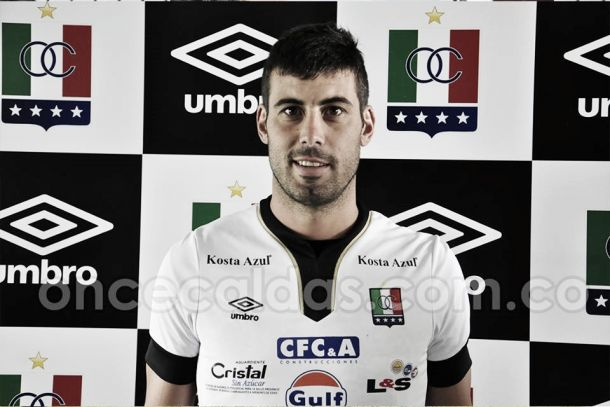 Sebastián Penco, nuevo goleador de Once Caldas