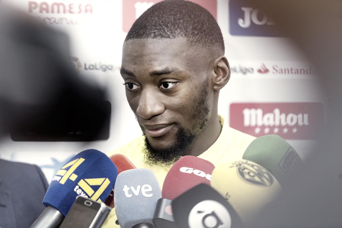 """Ekambi: """"En el Villarreal puedo dar lo mejor de mí"""""""
