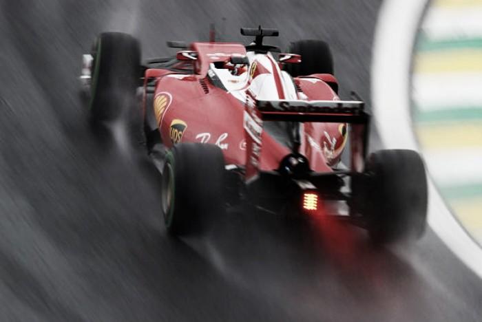 Sebastian Vettel se estrella probando los nuevos Pirelli en Fiorano