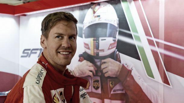 """Sebastian Vettel: """"Estábamos más cerca con el compuesto blando"""""""
