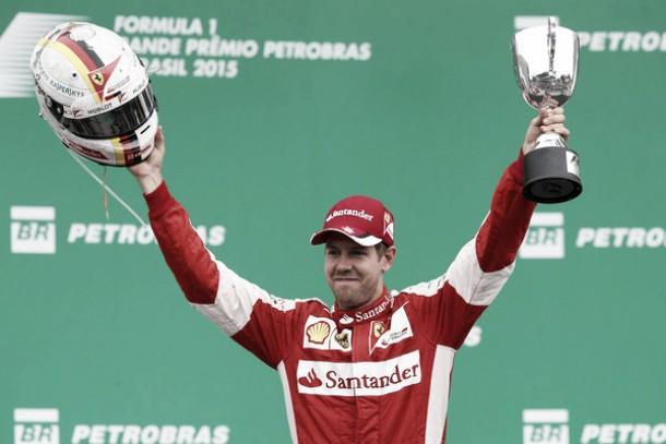 "Sebastian Vettel: ""Ha sido una buena carrera para nosotros"""