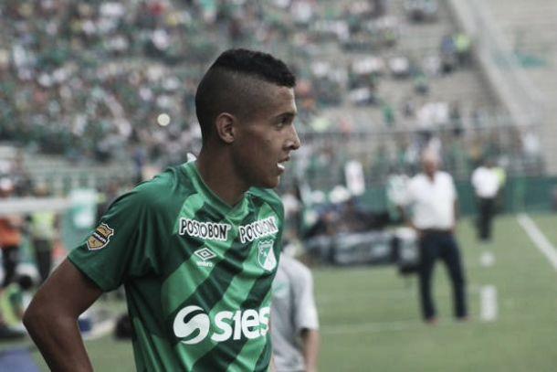 Sebastián Escobar hizo su debut oficial con el Deportivo Cali