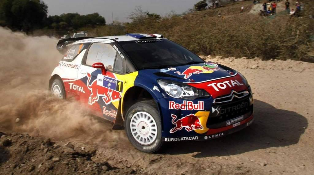 Loeb gana en México y se distancia en el mundial