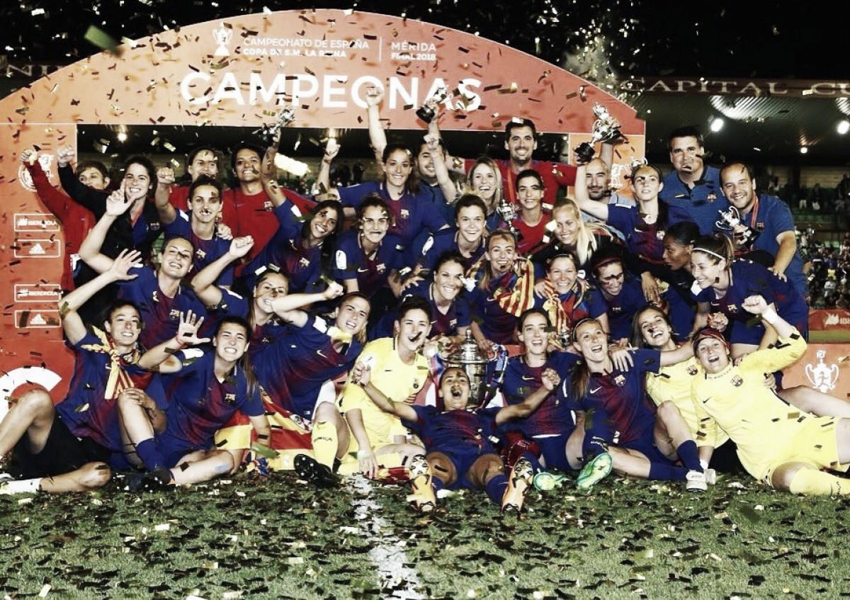 FC Barcelona Femenino: la gloria llega al final