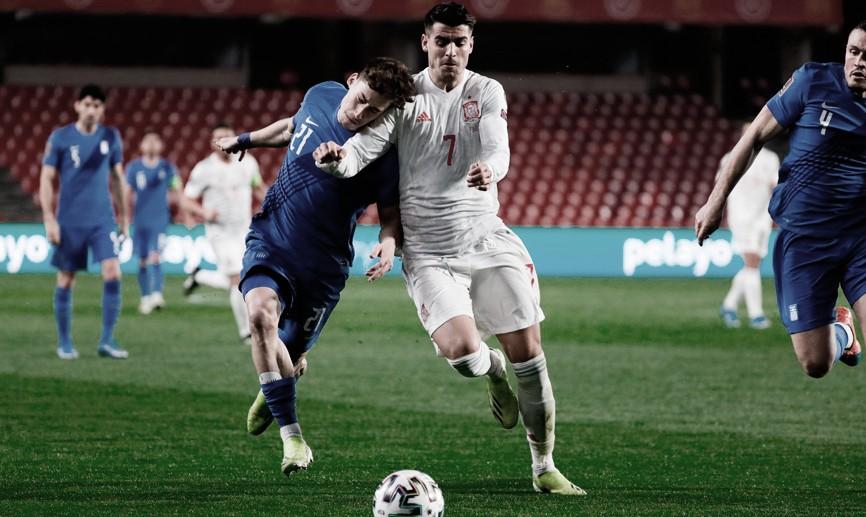España 1-1 Grecia: empezando mal el Mundial 2022