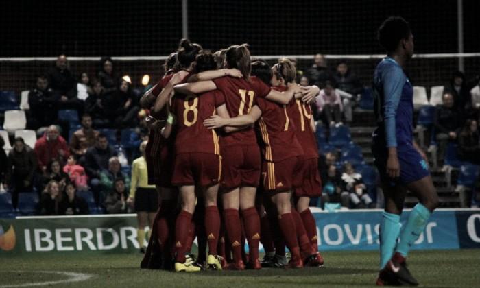 La Roja apunta alto en la Copa de Algarve 2019