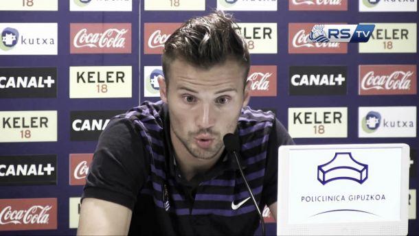 Haris Seferovic pide perdón a la afición de la Real Sociedad