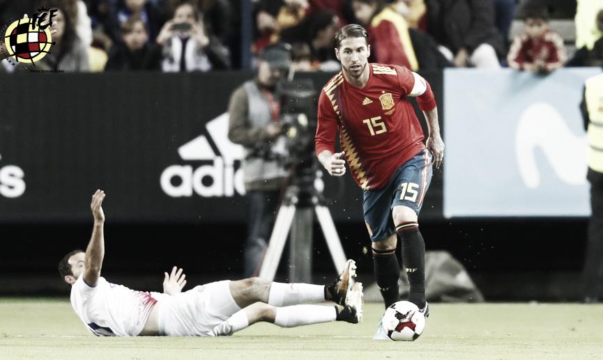 Sergio Ramos hace historia en Oslo