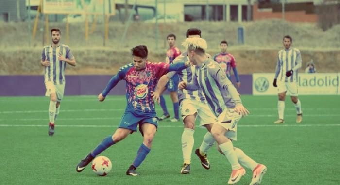 El Valladolid B gana en el descuento a la Sego